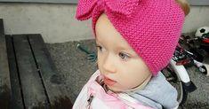 neulottu rusettipanta ohje merinovilla Winter Hats, Crochet Hats, Knitting, Fashion, Moda, Tricot, La Mode, Breien, Fasion