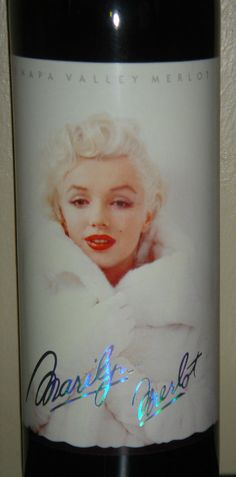 Marilyn Monroe Merlot 1995 Red Wine Full Sealed Mint Perfect New Collectable #MarilynMerlot