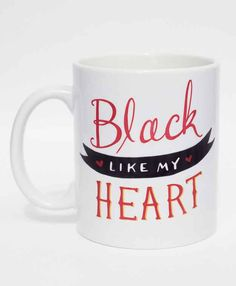 A mug that knows about the darkness lurking inside you.