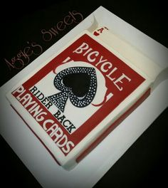 Deck of Cards Cake