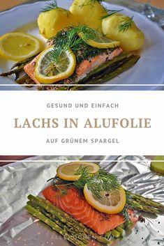 Salmon Recipes, Seafood Recipes, Original Recipe, Bon Appetit, Fresh Rolls, Asparagus, Meal Prep, Clean Eating, Low Carb