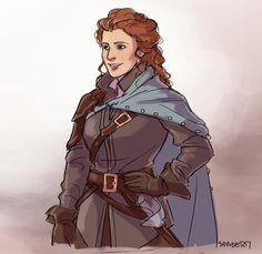 The Musketeers fan art - Constance