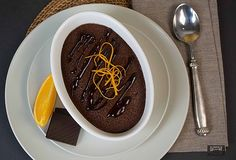 Orange and Chocolate Delicious Pudding Delicious puddings are unique as they have a cakey top yet are custardy on the bottom. Simply delicious.