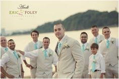 beige suits for groomsmen with suspenders - Google Search