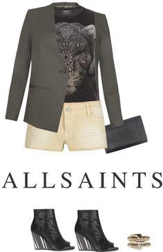 """ALLSAINTS"" by fashionmonkey1 on Polyvore"