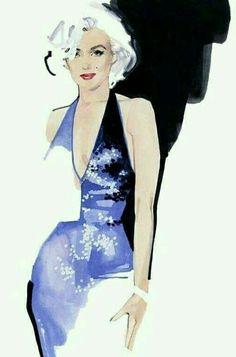Marilyn, artist: Marc-Antoine Coulon