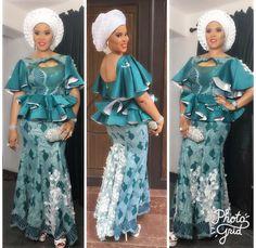 Peplum blouse ad skirt