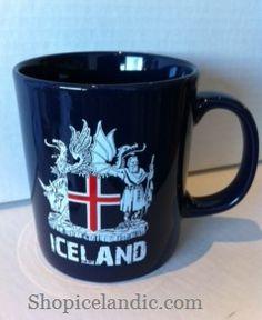 Coat of Arms - Mug - Mugs - Souvenirs - Shopicelandic.com