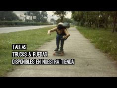 LONGBOARD, TRUCKS & RUEDAS NACIONALES. - YouTube