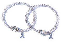 Great Grey geluksarmbanden voor Pink Ribbon € 24,95 -> Jewellicious Designs doneert € 4,03 aan Pink Ribbon.