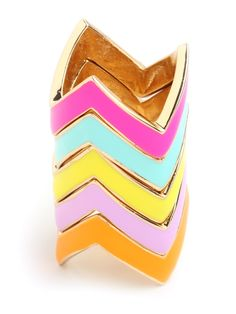 chevron colorful bracelets