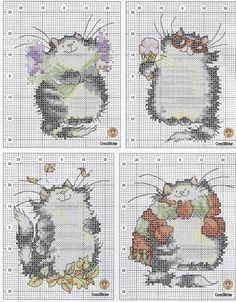 Thrilling Designing Your Own Cross Stitch Embroidery Patterns Ideas. Exhilarating Designing Your Own Cross Stitch Embroidery Patterns Ideas. Cat Cross Stitches, Cross Stitch Baby, Cross Stitch Animals, Cross Stitch Charts, Cross Stitch Designs, Cross Stitching, Cross Stitch Embroidery, Embroidery Patterns, Cross Stitch Patterns