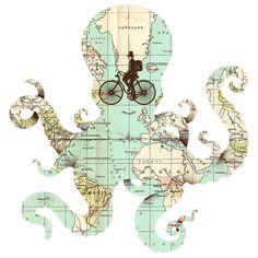 All Around the World | Enkel Dika Wall Decal | WallsNeedLove