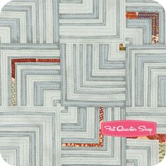 Juggling Summer Pale Grey Labyrinth Yardage SKU# 1505-12