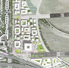 site plan / Courtesy of MARS Architekten, Uberbau Architecture and Urbanism and TH Treibhaus Berlin & Lavaland