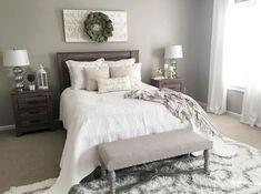 14 best modern farmhouse bedroom decor ideas