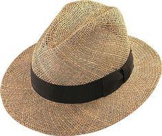 3100 73 Natural Safari Seagrass Straw Hat. Simply Best Hats · Henschel Hats 9a0235833a9a