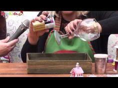 Μετατρέπουμε ένα ποτήρι στο πιο εντυπωσιακό χριστουγεννιάτικο στολίδι   InfoKids