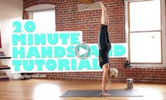 Handstands are super fun, but are also really challenging, and for many of us, scary! Yet what most of us don't realize when we begin a handstand practice is that it requires a lot of physical strength, as well as body awareness.  Body awareness is a key first step in achieving a handstand. Often …