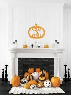 Monogram Wall Art - Pumpkin – Blair's Jewelry & Gifts