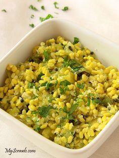 ... raw veggies. Mustard seasoned in sesame oil acts as the salad dressing