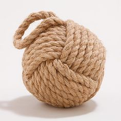 Hemp Rope Ball Doorstop | World Market