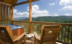 Pigeon Forge, Tennessee.  Stayed here...LOVED it.  View magnificant!