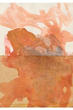 Joseph Beuys · Altes Meer mit Flugechse, 1956. From the exhibition 'Zeichnungen' · till Feb. 8th @ Galerie Bastian, Berlin