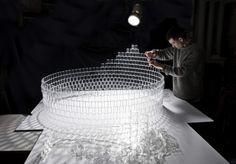 TobiasTøstesen Transforms 8,000 LEGO Windows into a Dazzling Chandelier! | Inhabitat - Sustainable Design Innovation, Eco Architecture, Green Building