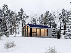 4 неожиданно красивых сборных дома | WorldBuild365