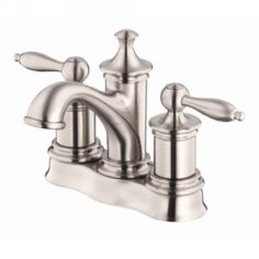 Danze D304010BN Prince™ Prince™ Two Handle Widespread Lavatory Faucet Brushed Nickel - eFaucets.com