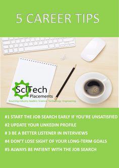 5 Career Tips