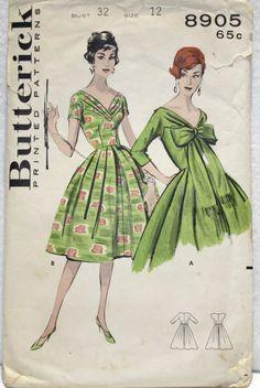 Butterick 8905; Sz 12/Bust 32