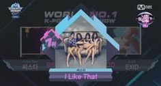 """#SISTAR #씨스타 #I_Like_That #沒我愛  Watch: SISTAR Grabs 4th Win For """"I Like That"""" On """"M!Countdown,"""" Performances By Wonder Girls, BEAST, And More 