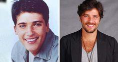 Antes e depois dos atores mirins - Bruno Gagliasso, Brazilian actor - foto: MdeMulher - Ed. Abril