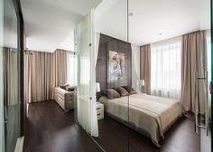 hotel vorobyovy 12 Minimalist Apartment With a Strong Design Rhythm by Alexandra Fedorova
