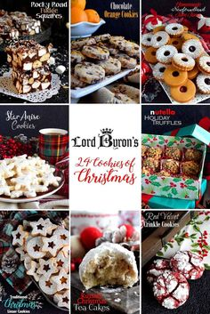 Lord Byron's 24 Cookies of Christmas - Lord Byron's Kitchen Noel Christmas, Christmas Goodies, Christmas Treats, Christmas Crack, Christmas Candy, Christmas Stockings, Holiday Desserts, Holiday Baking, Holiday Recipes
