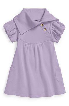 Kate Quinn Organics Short Sleeve Organic Cotton Dress (Toddler Girls) available at #Nordstrom