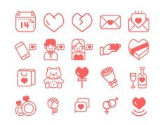 UI8 — Products — Valentines Day Icons