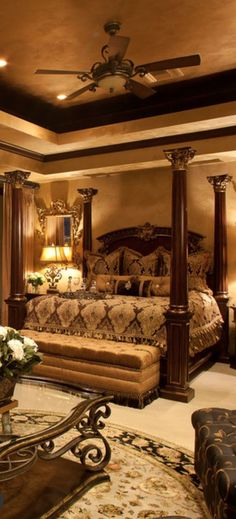 Old World Bedroom Decor - Neutral Interior Paint Colors Check more at http://mindlessapparel.com/old-world-bedroom-decor/