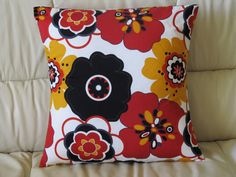 Throw Pillow Cover 16x16  with Envelope by AquamarsBoutique, $16.00
