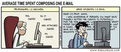 prof emails