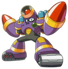 A robot master from Mega Man 5.  His weapon is the Napalm Bomb, and he is weak to the Crystal Eye.