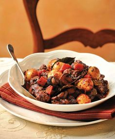 Gluten-free, from AllergicLiving. Simons Classic Fall Stew (2)