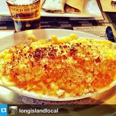 There is something crazy good about our #MacNCheese...maybe it's the four #cheeses... #longislandfoodie #longislandlocal #foodie #babylon #postofficecafe #drinklocal #eatlocal