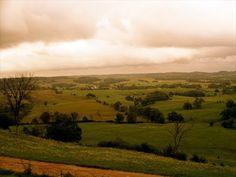 I've heard Yorkshire looks like Iowa, and vice versa.
