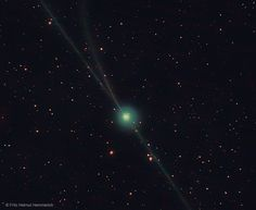 """Almost Three Tails for Comet Encke   Image Credit & Copyright: Fritz Helmut Hemmerich"" http://buff.ly/2kT9YCH"