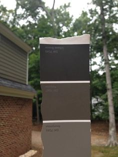 Painting Our Garage Doors A Richer, Deeper Color. Exterior House ...