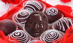 In Japan they are printing 3d Portraits in chocolate - I've been talking about this for years (I know it's super creepy, but think of candy at a bar mitzvah...yea) - It would be even better with a ShapeShot!