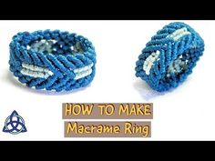 On this straightforward Macrame tutorial I will present you Learn how to Make Macrame ring with Simple and Easy Macrame sample.Good for newcomers to be taught macrame step-by-step. I like making Macrame Rings and Macrame Rings, Macrame Bag, Macrame Knots, Macrame Jewelry, Macrame Bracelets, Diy Jewelry, Handmade Jewelry, Jewelry Making, Jewellery